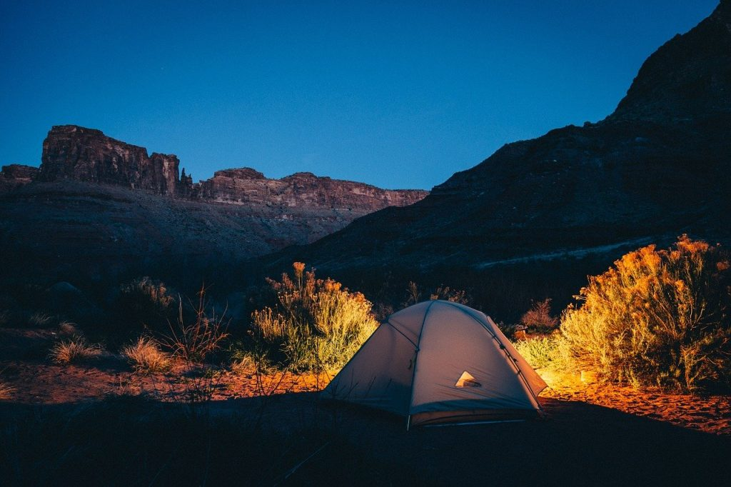 Want to Improve Your Sleep Schedule? Go Camping this Weekend